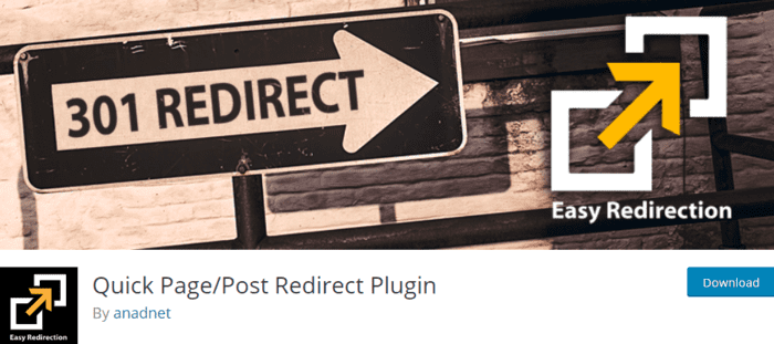 Quick PagePost Redirect