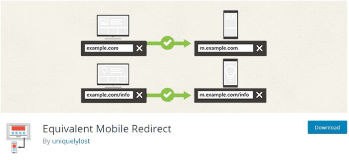 Equivalent Mobile Redirect