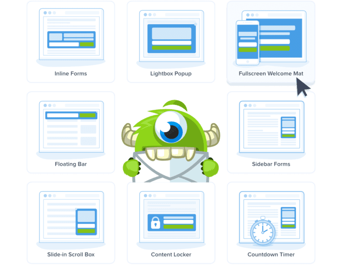 OptinMonster examples