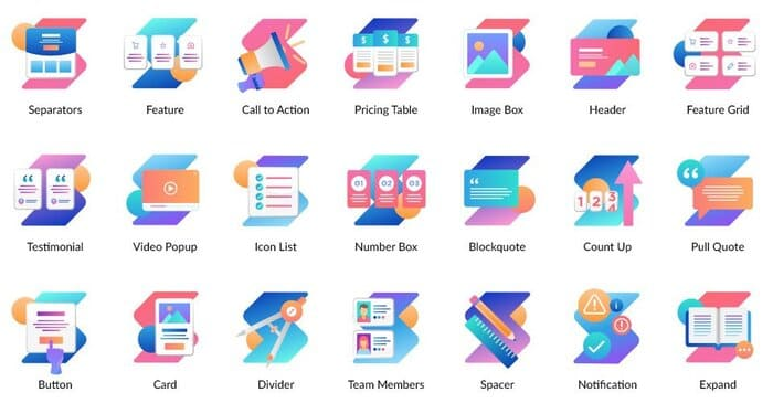 Stackable icon